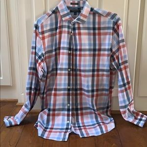 Men's Banana Republic Camden Fit M Plaid Shirt